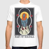 Mary Of Magdala Mens Fitted Tee White SMALL