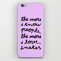 ALL MY FRIENDS ARE SNAKE… iPhone & iPod Skin