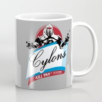 Cylons Huminfectant Spray  Mug