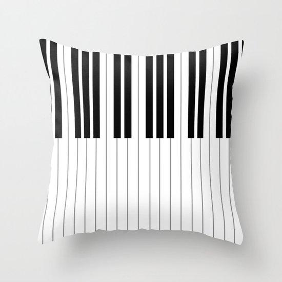"Chopin - Prelude Op. 28 No. 15 ""Raindrop"" Throw Pillow"