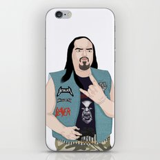 Metalhead Gamer iPhone & iPod Skin