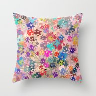 Flower Carpet(41). Throw Pillow
