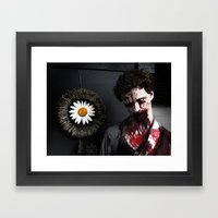 Some Kind Of Zombie Framed Art Print