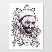 Xoxo Twisty Canvas Print