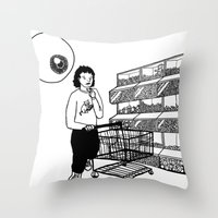 Surveillance Throw Pillow