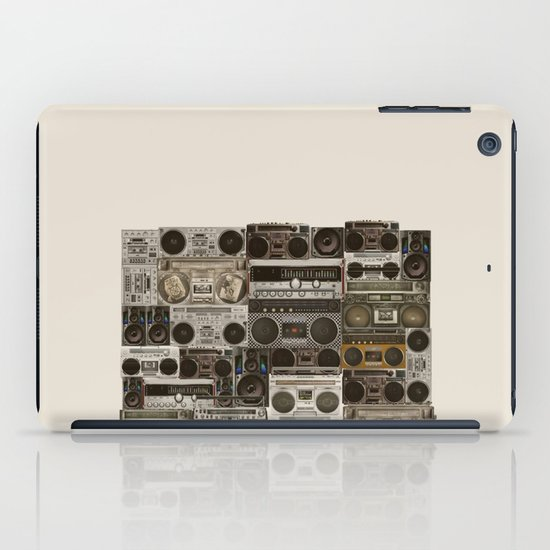 Wall Of Sound iPad Case