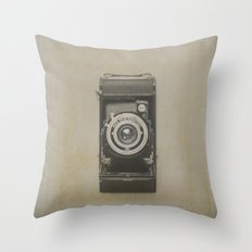 Vintage Kodak Throw Pillow