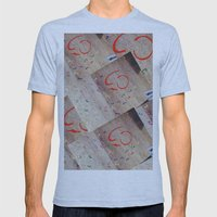 take a walk Mens Fitted Tee Athletic Blue SMALL