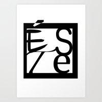 LOGO ESTE Art Print