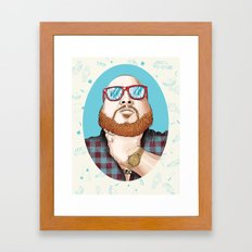 Action Bronson Framed Art Print