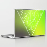 triangle Laptop & iPad Skins featuring Triangle* by Mr and Mrs Quirynen