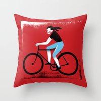Ride or Die No. 2 Throw Pillow