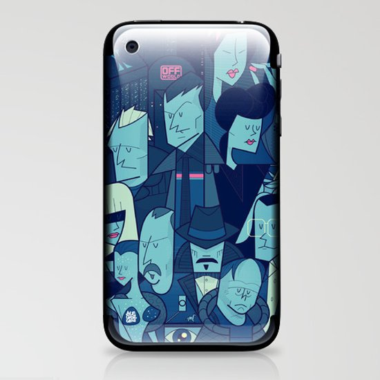 Blade Runner iPhone & iPod Skin