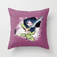 Mulan 2 Throw Pillow