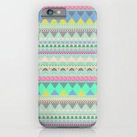 PASTEL AZTEC iPhone 6 Slim Case