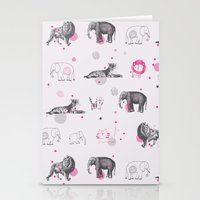 Animal Circus Stationery Cards