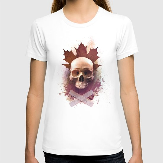 Skull and Leaf T-shirt