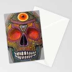 Upoko Skull Stationery Cards