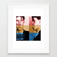 Classic Frank Sinatra  Framed Art Print
