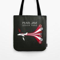 PJ Greek Fans On Tour Tote Bag