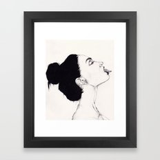 Tongue Framed Art Print