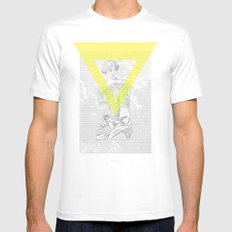 Matrix Milo Mens Fitted Tee White SMALL