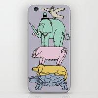 ANIMAL TOTUM iPhone & iPod Skin