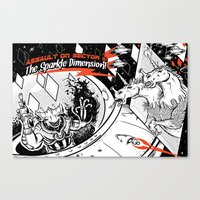 Assault on Sector 11: The Sparkle Dimension Canvas Print