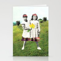 walk together Stationery Cards
