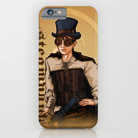Steampunk Lady iPhone & iPod Case