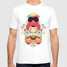 Keiko Mens Fitted Tee SMALL White