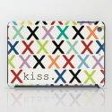 kiss. iPad Case