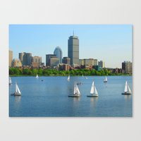 Boston in the Summer Canvas Print
