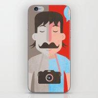 Moustachu iPhone & iPod Skin