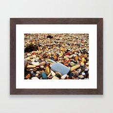 Pebbles Beach Framed Art Print