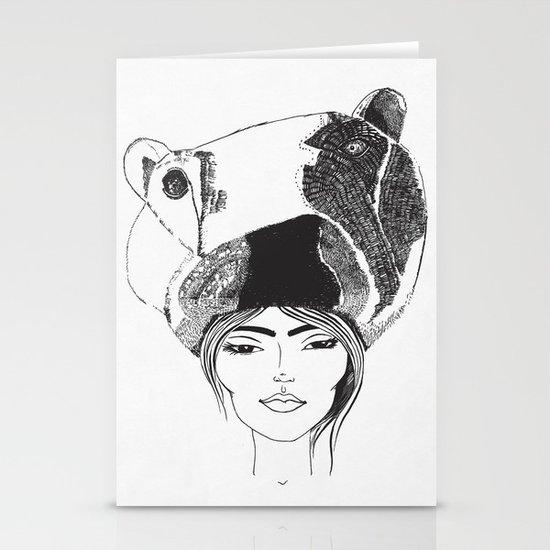 PolarGirl Stationery Card
