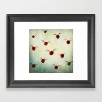 Magic Apples  Framed Art Print