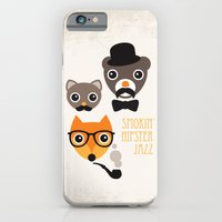 Hipster Mustache Animal … iPhone 6 Slim Case