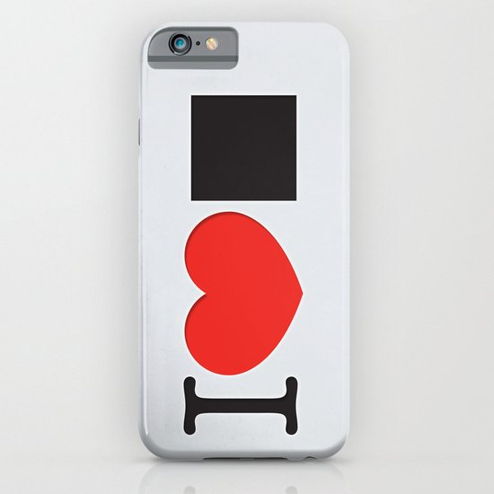 I LOVE PIXELS / PICTOGRAM VERSION iPhone & iPod Case