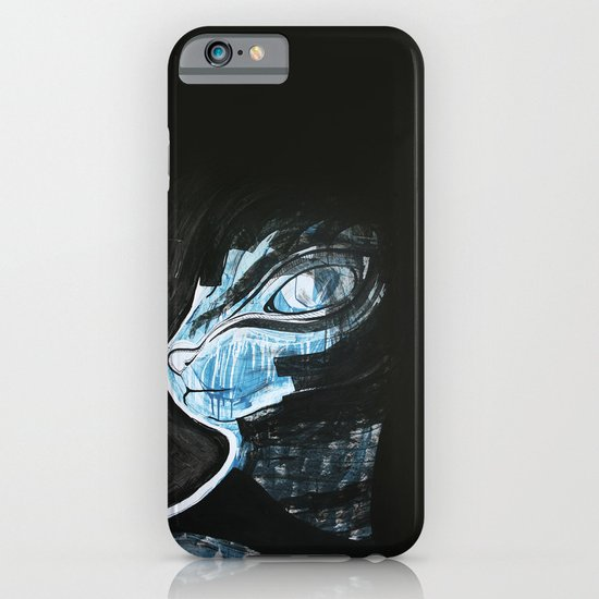 Cat Blue iPhone & iPod Case