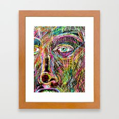 The Most Gigantic Lying Eyes Framed Art Print
