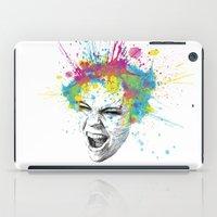 Colorful Scream iPad Case