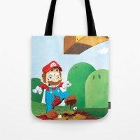 Mario Mess Tote Bag