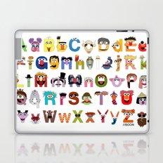 Sesame Street Alphabet Laptop & iPad Skin