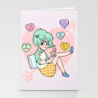 Kiss Off Stationery Cards