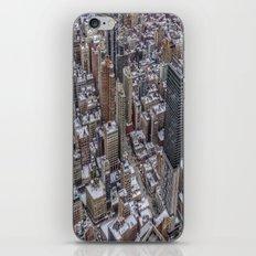 Snowy Tops iPhone & iPod Skin