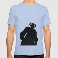 Marvel's Galactus Mens Fitted Tee Tri-Blue SMALL
