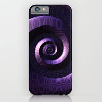 iPhone Cases featuring Nagini's Coils by Lyle Hatch