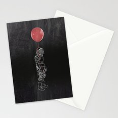 Balloon Astronaut Stationery Cards
