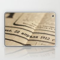 Old News Laptop & iPad Skin